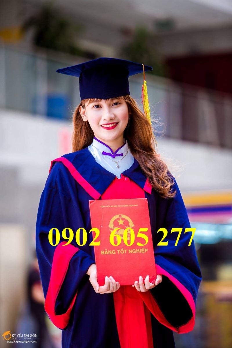 Đặt may áo cử nhân sinh viên cao đẳng tốt nghiệp ra trường
