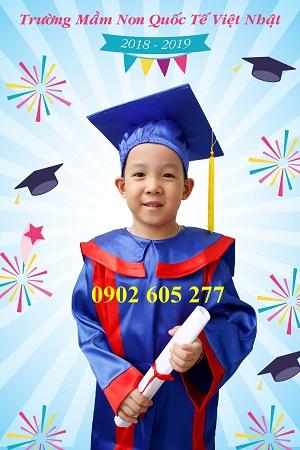 Áo tốt nghiệp tiểu học TH08