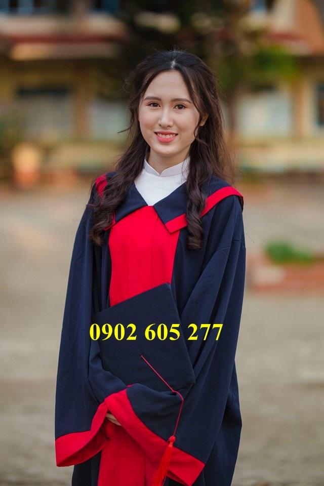 Áo cử nhân sinh viên SV03