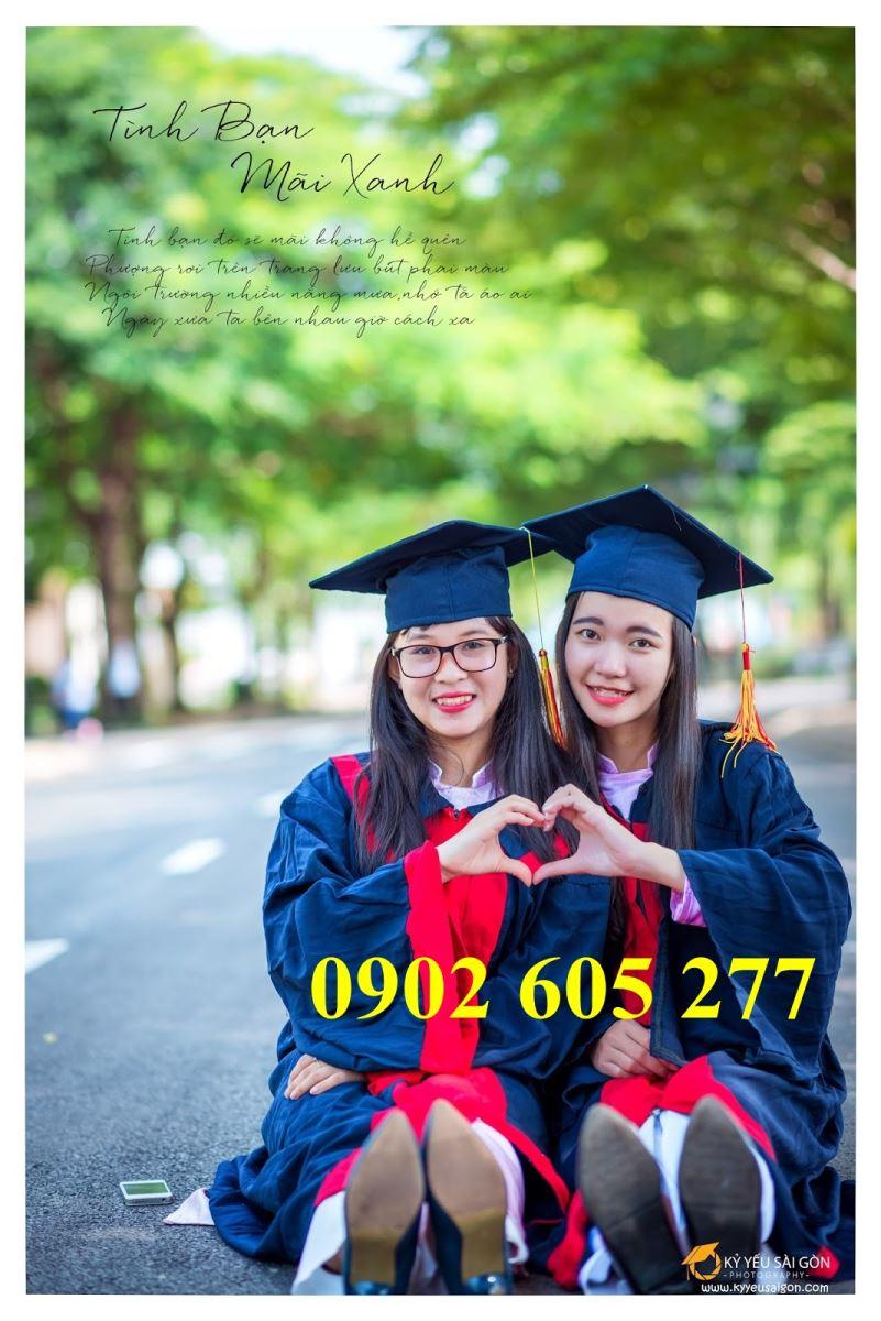 Nơi may áo tốt nghiệp sinh viên số lượng lớn – công ty QUÝ AN