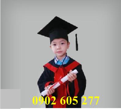 Áo cử nhân tiểu học TH02
